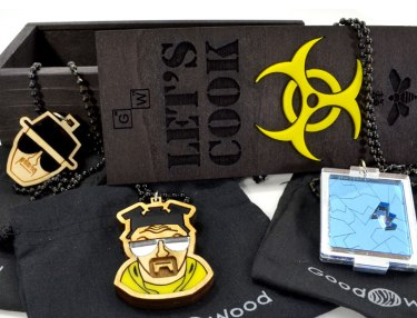 Good Wood NYC x Breaking Bad Let's Cook Box Set