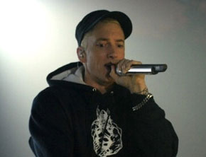 Eminem Performs 'Rap God' At Youtube Music Awards