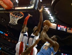 NBA Ballin: John Wall Denies Kenneth Faried