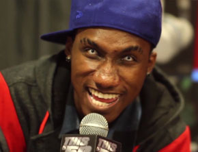 Hopsin Shows Off Backpack Contents, Talks Suicidal Tweets