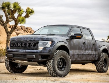 Bubba Watson's Bullet-Proof Ford Raptor By Oakley