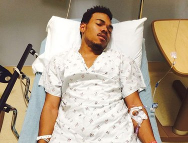 Chance The Rapper hospitalized.