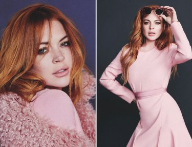 Lindsay Lohan For Wonderland Magazine Sept/Oct Issue