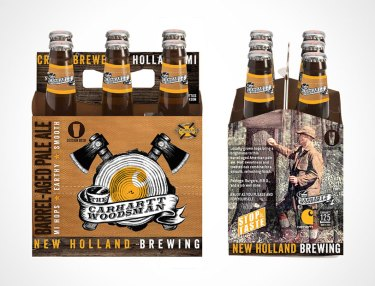 Carhartt x New Holland 125th Anniversary Woodsman Beer