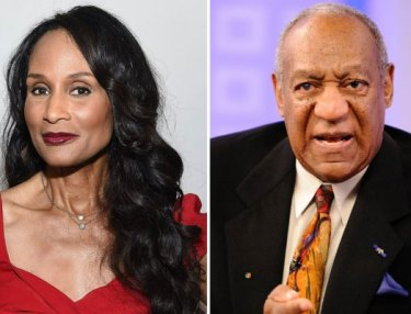 Beverly Johnson and Bill Cosby