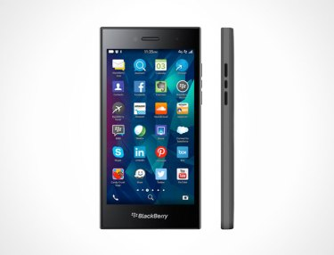 BlackBerry Unveils 5-Inch Leap Smartphone