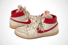 Game-Worn 1984 Michael Jordan Shoes