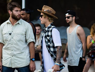 Justin Bieber at Coachella