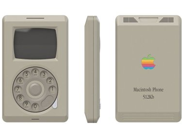 1984 Apple iPhone by Pierre Cerveau