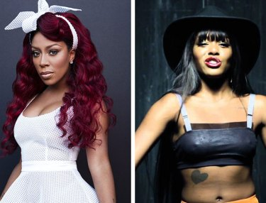 K. Michelle and Azealia Banks