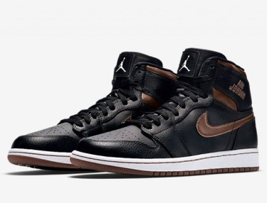 Nike Air Jordan 1 Rare Air - Black/Bronze
