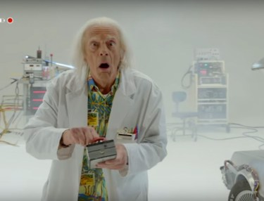 Back To The Future 30th Anniversary: Doc Brown Saves The World