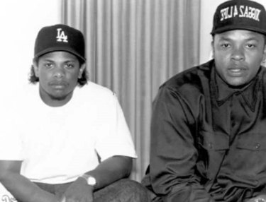 Eazy-E and Dr. Dre