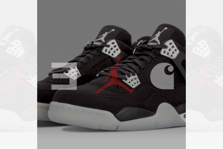 Eminem, Jordan & Carhartt Tease Air Jordan 4 Collaboration
