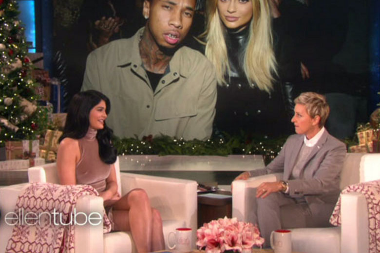 Kylie Jenner and Ellen