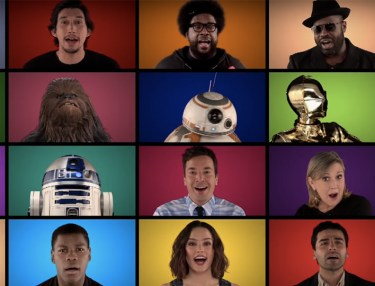 Fallon, The Roots & Force Awakens Cast Sing Star Wars Medley