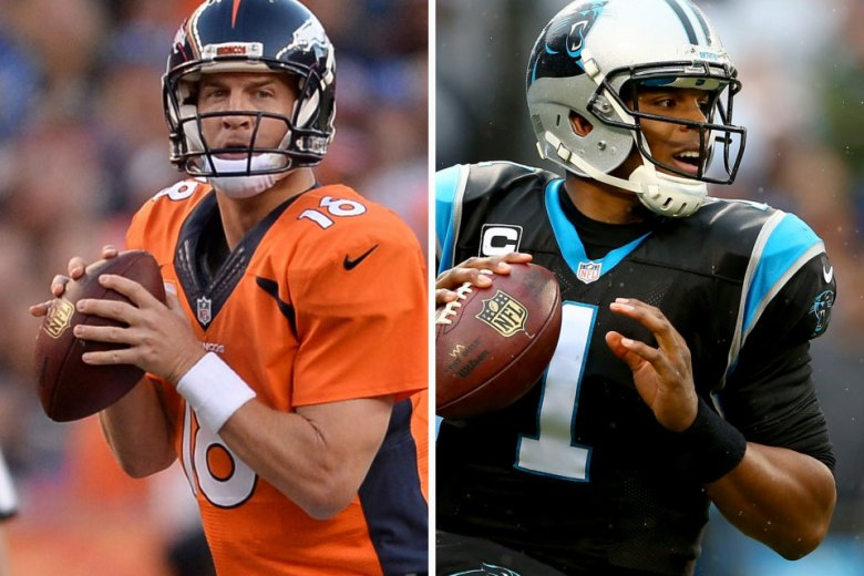 Peyton Manning and Cam Newton