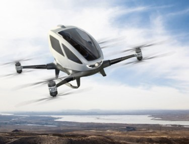The World's First Commercially Available Passenger Drone