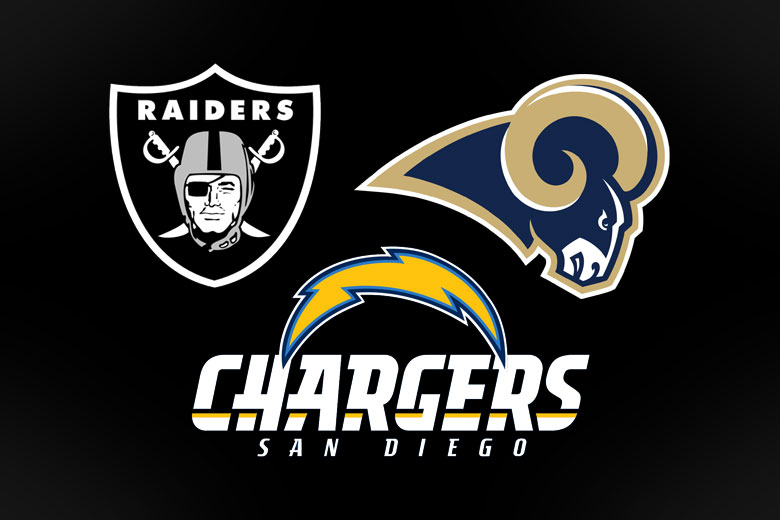 Rams Chargers Amp Raiders File To Relocate To Los Angeles