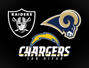 Rams, Chargers & Raiders