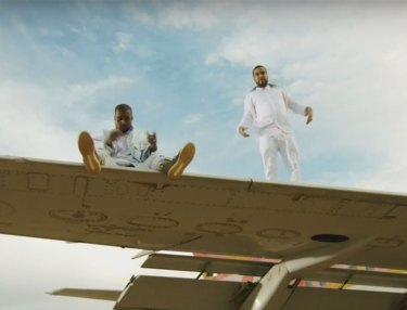 French Montana and Kanye West