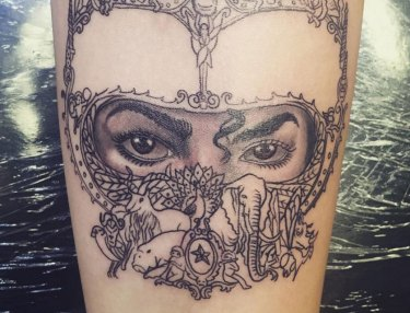 Paris Jackson's new Michael Jackson tattoo