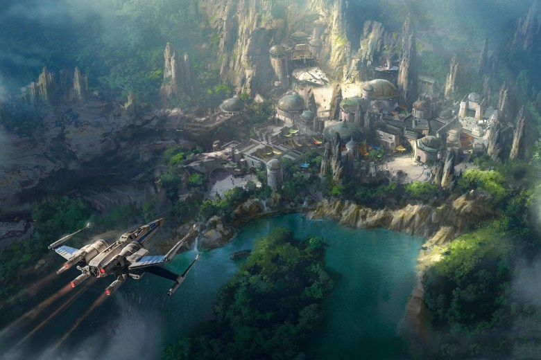 Disneyland x Star Wars Land
