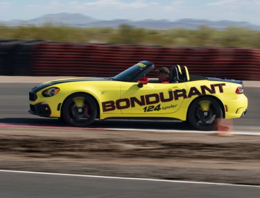 Fiat's Abarth Models Join Bob Bondurant School of Driving
