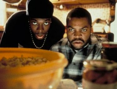 Chris Tucker and Ice Cube from FRIDAY