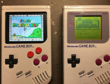 Man Gives Nintendo Game Boy 2016 Update
