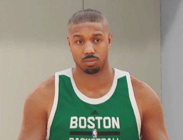 Michael B. Jordan in NBA 2K17