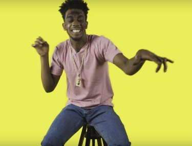 Desiigner spits to Addams Family