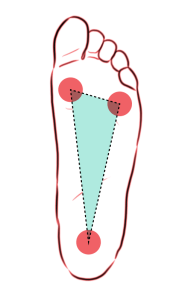Triangle of the Foot Diagram
