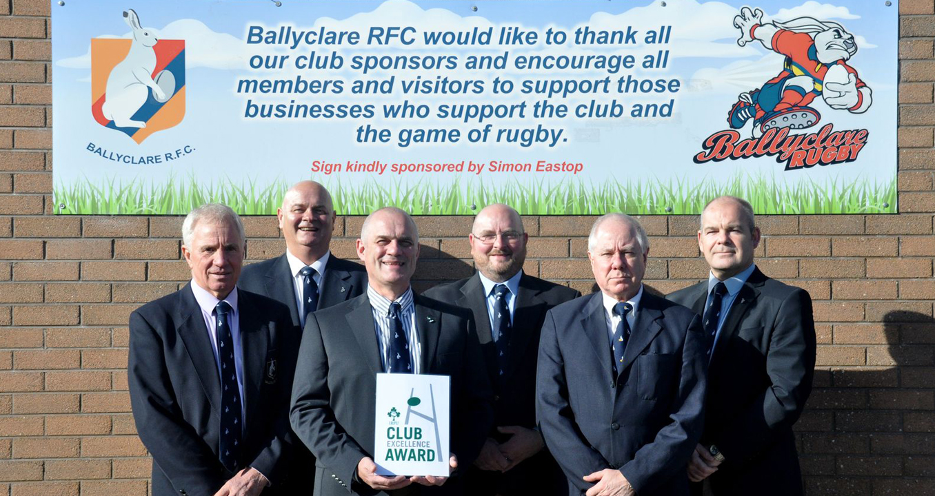 20 Oct 2015 IRFU Club Excellence Award