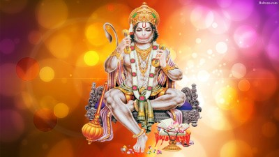 Hanuman Background Wallpaper 33064 - Baltana