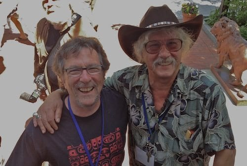 Marc and Arlo Guthrie (2012), who was a high school classmate (and roommate for awhile) at the Stockbridge School in Massachusetts.