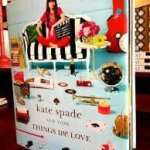 A coffee table book by Kate Spade at The Pleasure of Your Co.