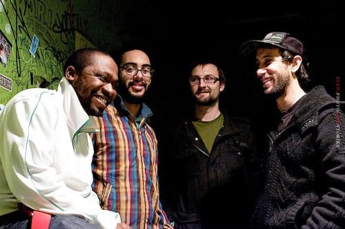 Soul Cannon (L to R): Eze Jackson, Nathan Ellman-Bell, Jon Birkholz, Matt Frazão