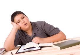 tired teen