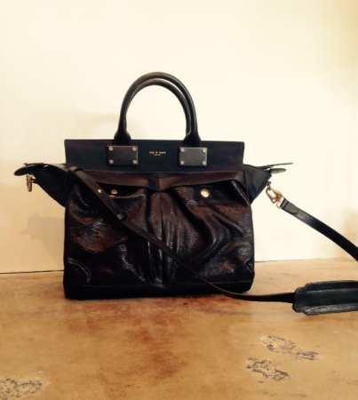 Rag & Bone - Pilot Bag in Black Leather $995 - Ruth Shaw
