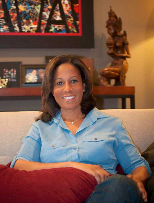 Lisa Salters at home in Fells Point