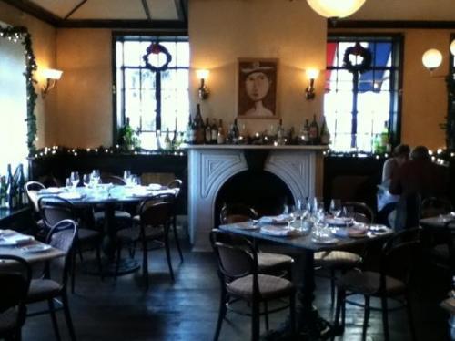 Petit Louis' fireplace. Photo via Trip Advisor