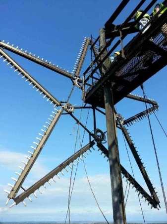 Bethlehem Steel star (via Sparrows Point Terminal)