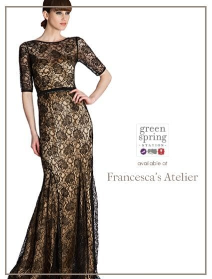 Available at Francesca's Atelier. #GreenSpringStyle #Gifts #HolidayGifts #Gowns