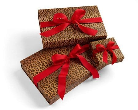 We're wild for our gift boxes and bows. No wrapping required. Shop these great items in stores!