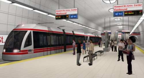 Red Line Station (rendering)
