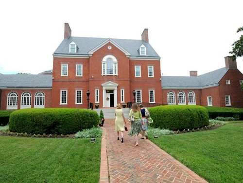 Photo of the Maryland Governor's Mansion, via Flickr user Maryland GovPics