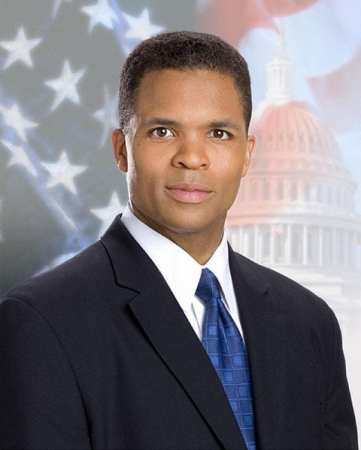 Jesse Jackson Jr.'s official Congressional portrait.