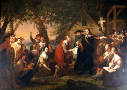 Founding of Maryland, by Tompkins Harrison Matteson