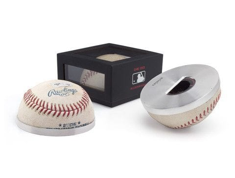 Orioles Game Used Baseball Combination Bottle Opener and Paper Weight  $95